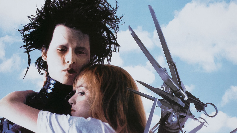 Movie Poster For 'Edward Scissorhands'