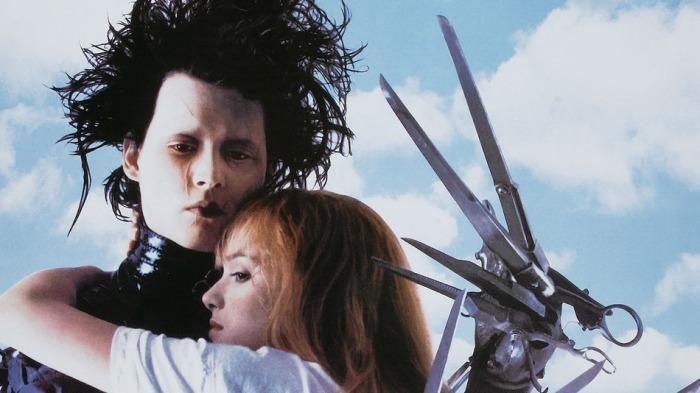 Movie Poster For 'Edward Scissorhands'